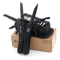Ganzo G201 B G201B 22in1 Multi Pliers Outdoor Multi Tool Camping Tool w/ Nylon pouch & Gift Box