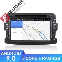 Isudar Car Multimedia Player Android 9 Per Dacia/Sandero/Duster/Renault/Captur/Lada/Xray 2/2 Logan Auto Radio GPS 1 Din DSP DVR