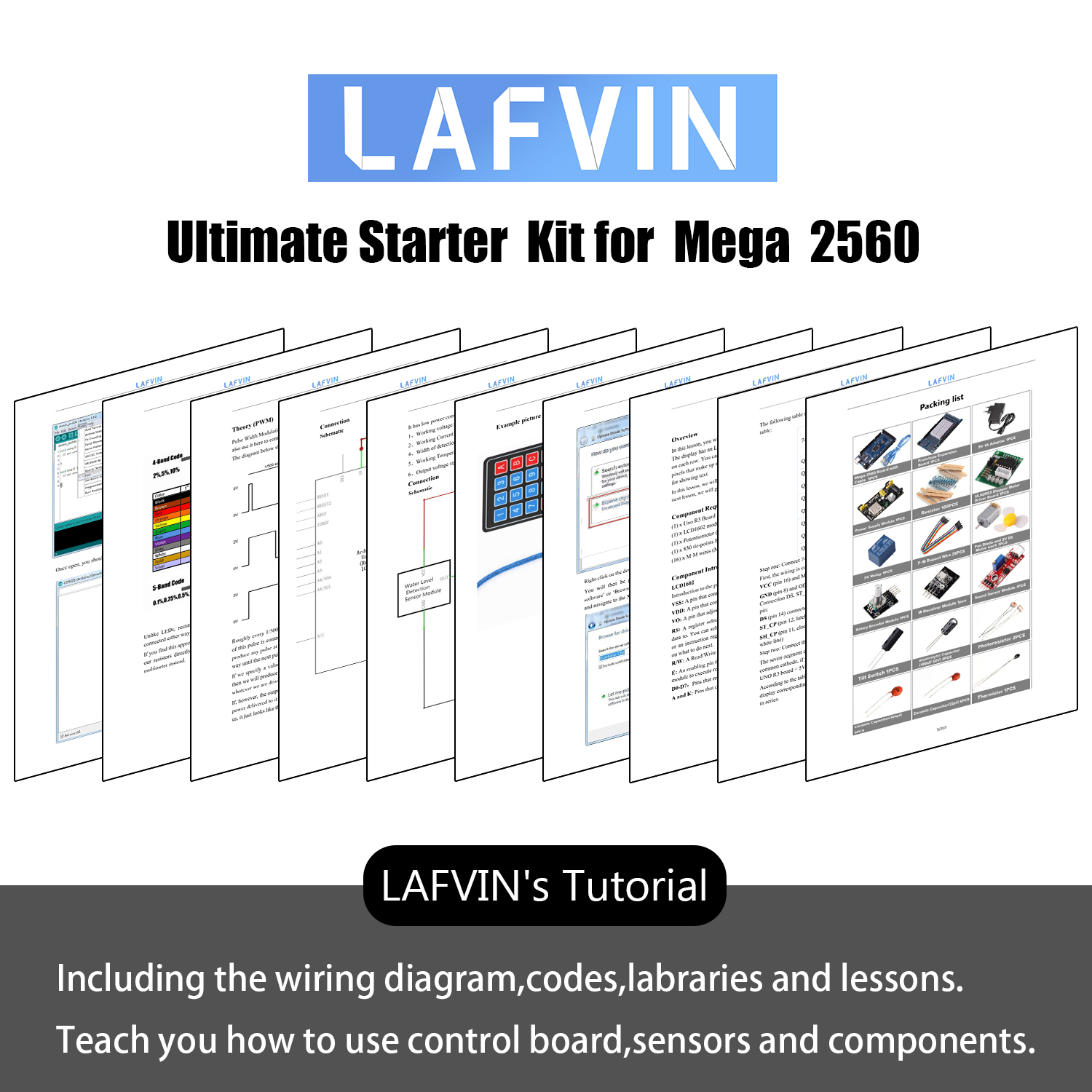 Image 4 - LAFVIN Mega 2560 Project The Most Complete Starter Kit with Tutorial for Arduino-in Integrated Circuits from Electronic Components & Supplies