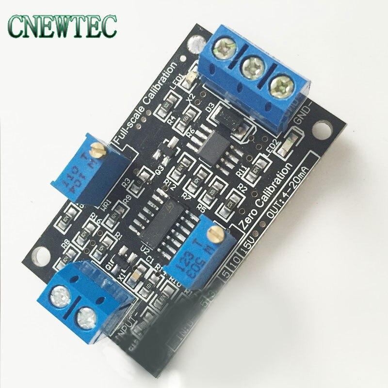 Модуль преобразования напряжения тока 0-10 В 4-20мА передатчик сигнала источника постоянного тока для системы ARM PLC