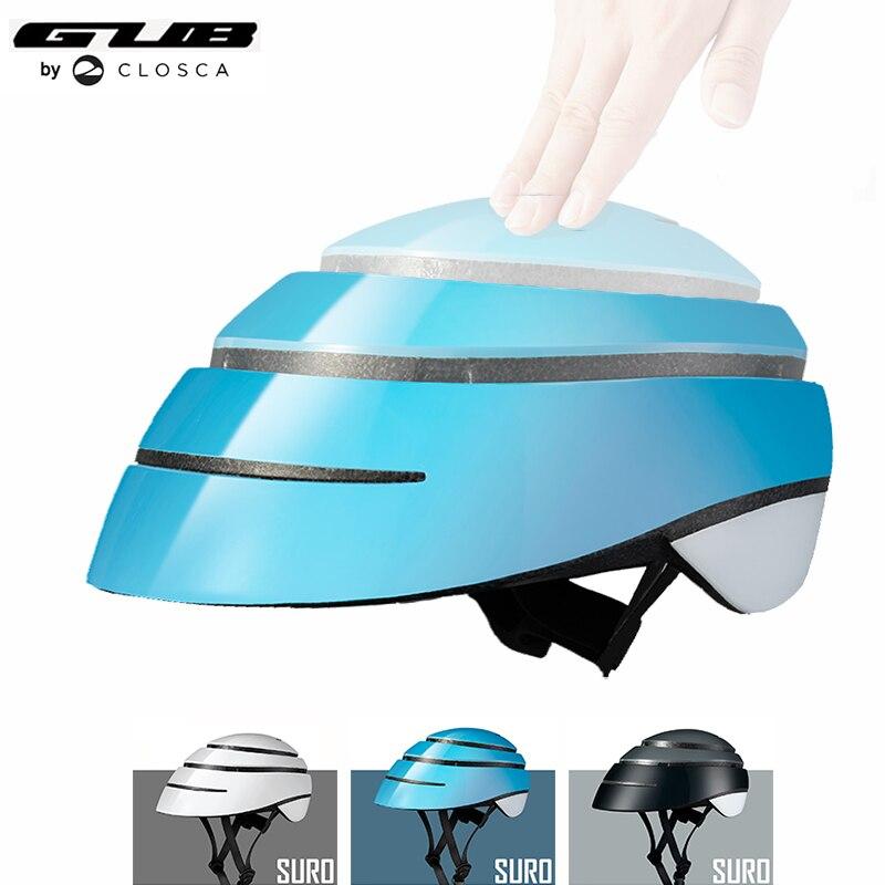 Здесь можно купить  GUB SURO Folding Commuter Cycling Helmet 2018 Newly Designed Road Mountain MBT Bike Portable Safety Bicycle Helmet  Спорт и развлечения