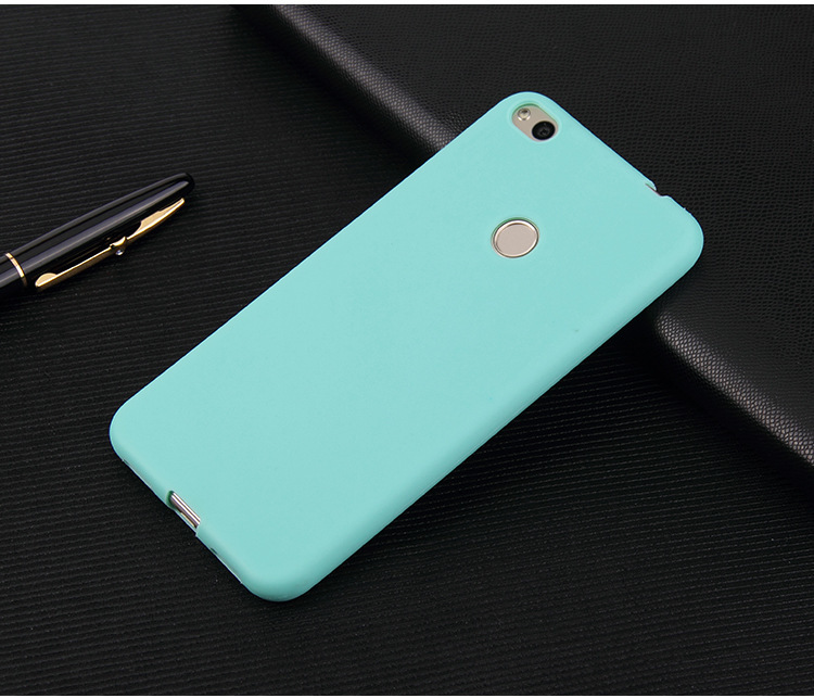 Silicon case For Xiaomi Redmi 4X 4A 5A Redmi 5 Plus Mi A1 Mi8 Note 5 Pro Redmi Note 4X Matte Candy TPU solid Back Cover Protect in Fitted Cases from Cellphones Telecommunications