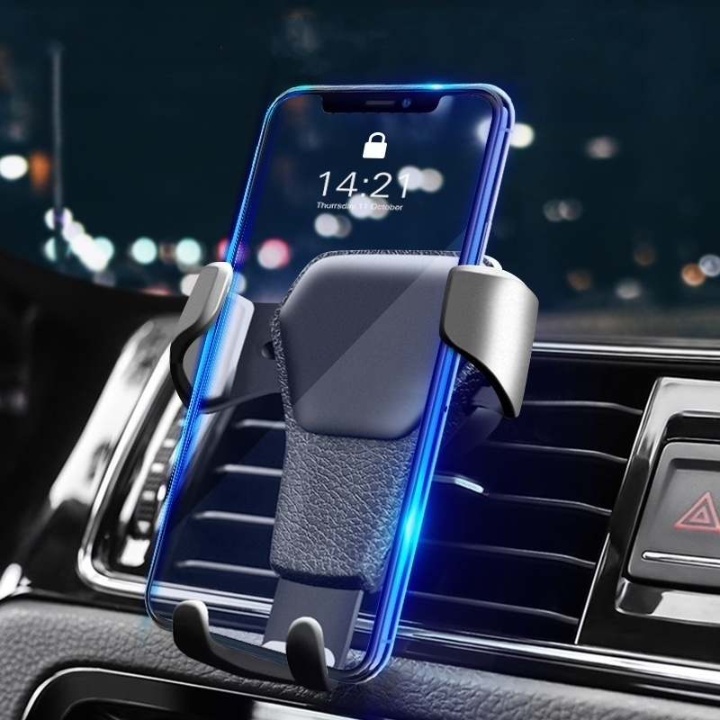 Universal Car Phone Holder For Phone In Car Air Vent Mount Stand Mobile Holder For IPhone X 7 Smartphone Support GPS No Magnetic