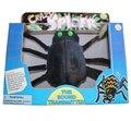 Araña de juguete loco el transmisor de sonido 14*24 cm Caja 1 unids/set araña Eléctrica juguete Miedo