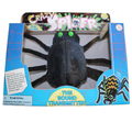 Crazy spider toy the sound transmitter 14*24 cm 1 pcs/set Boxed Electric spider Scary toy