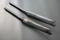 New Road Bike Carbon Fork 700C 28 6mm Bicycle Forks Fixed Gear Track Bike Carbon Front