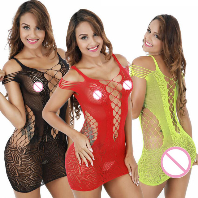 100 Style Porn Sex Babydoll Chemise Lingerie Sexy Hot Erotic Costumes Open Crotch Plus Size Lingerie Intimates Dress