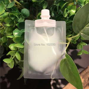 1000 шт 5 мл образец жидкий пакет пластиковый с носиком Прозрачный Крем для лосьона упаковка мешок для косметики макияж Премиум Giveaway