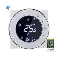 Voice WiFi Programmable Touchscreen  Thermostat Water Heating Temperature Controller Thermostat WiFi Warm Floor 95-240V 3A