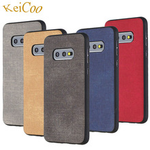 Jeans Texture Series Soft TPU Cases For Samsung Galaxy S9 S9+ Plus Case S10 S10+ S10E Ultra-thin Covers