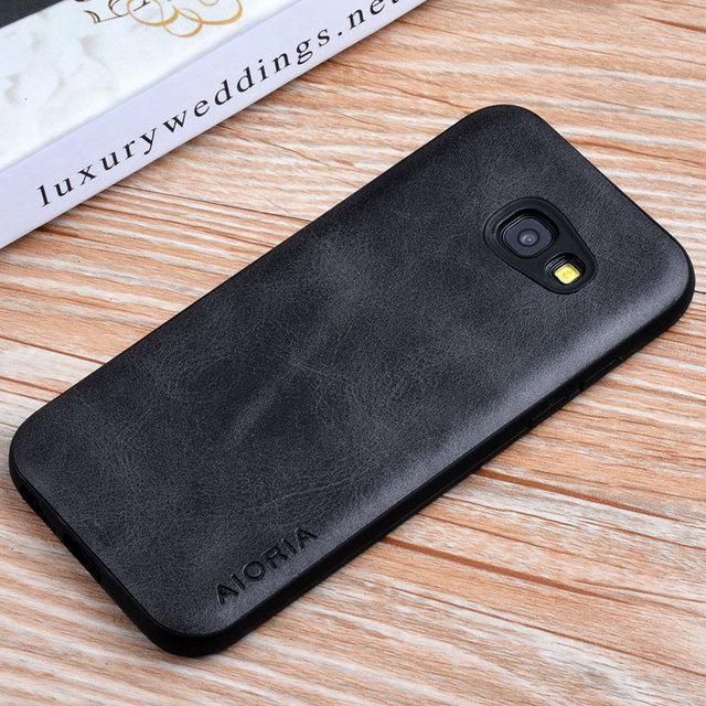 Case for Samsung Galaxy A5 2017 coque Luxury Vintage leather Skin covers for Samsung Galaxy A520 A5 2017 phone cases funda capa
