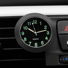 Luminous Auto Gauge Clock Mini Car Air Vent Quartz With Clip Outlet Watch Styling For Audi 100 200 Quattro 4