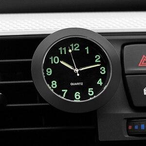 Luminous Auto Gauge Clock Mini