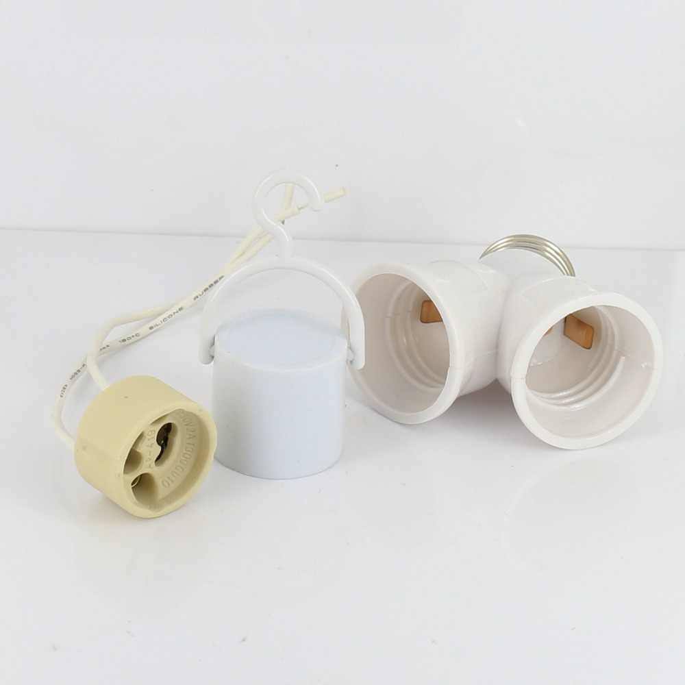 GU10 E14 E40 B22 E27 Lamp holder Socket adapter E27 to E14 Base LED Light Lamp Bulb GU10 to E27 Adapter Converter Screw Socket