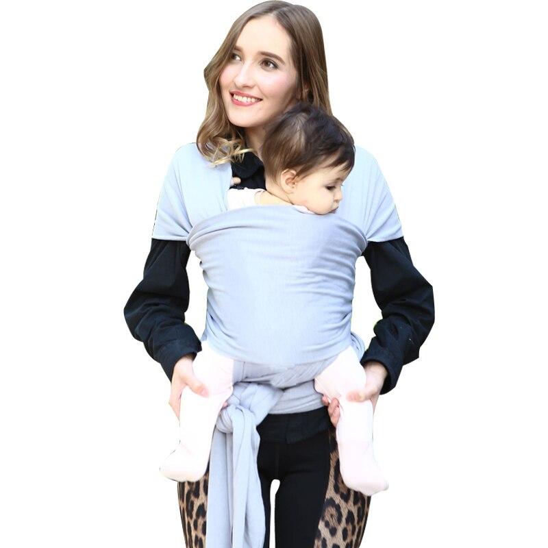Porte-bébé enveloppement extensible pour bébé-écharpe pour bébé-porte-bébé-enveloppement  Babys-porte-bébé mains libres enveloppes   Grand Bébé 4b90095b3cd