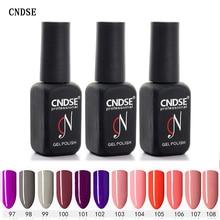 hot deal buy #60751 cndse nail gel 12ml 132 colors gel polish nail gel soak off uv gel polish nail lacquer varnishes free shipping