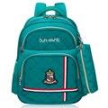 Ortopédica Mochila Escolar mochilas escolares Para Los Niños/de la muchacha Impermeable Mochila Niños del bolso de Escuela del Niño