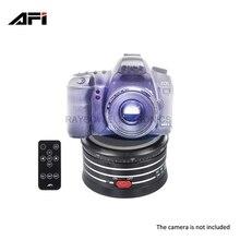 AFI MRA01 Panorama Head Metal Electric mini tripods ball heads for digital dslr  GoPro Action mirrorless Camera smartphone