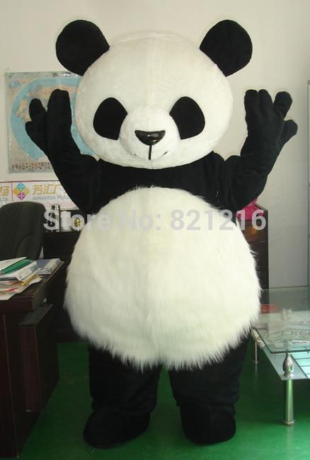 Wholesale New Version Chinese Giant Panda Mascot Costume Christmas cosplay Mascot Costume Free Shipping santa claus mascot costume christmas cosplay mascot costume free shipping