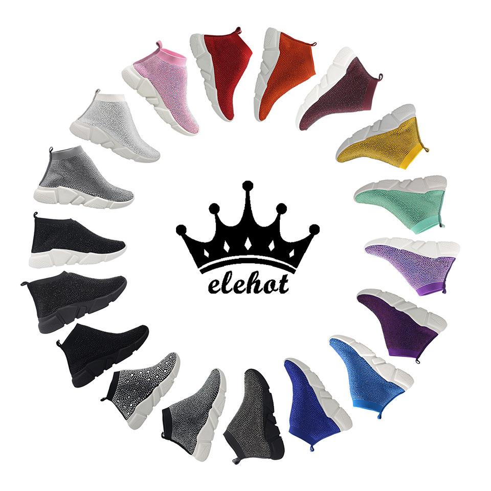 Elehot Bling Sneakers Family Show