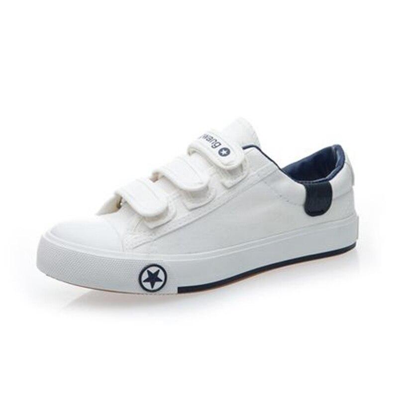 2017 primavera hombres zapatos de lona bajos zapatos de moda casual unisex marca