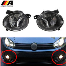 Left Right Side Bumper Headlight Fog Light Lamp for VW Volkswagen Jetta Golf 6 MK6 TDI TSI 2010-2014 Car Styling Accessories(China)