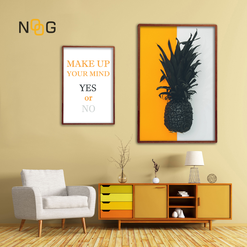NOOG Ananas Posters Crops Pineapple Wall Artwork Photos Nordic Canvas Panorama Portray Trendy Residing Room Print Residence Ornament Portray & Calligraphy, Low cost Portray & Calligraphy, NOOG Ananas Posters...