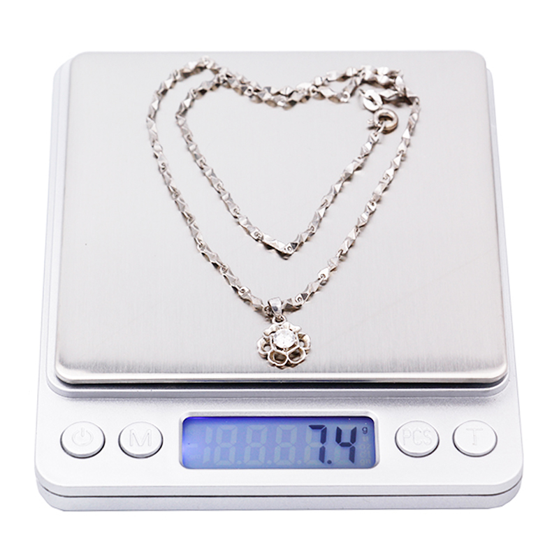 цена на 3000g 0.1g Electronic LCD Display Mini Digital Jewelry 3kg Weighing Scale Weight Scales Balance 20%Off