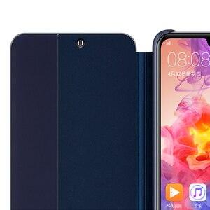 Image 2 - オリジナルhuawei社smart viewのカバー革保護カバー電話ケースP20 P20プロフリップケースハウジングスリープ機能ケース