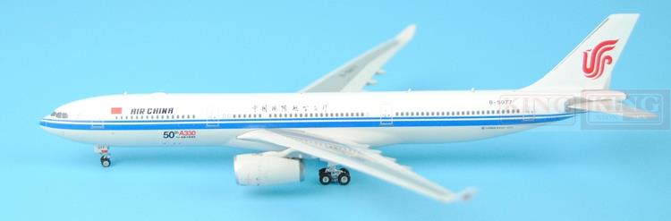 Phoenix 11181 China International Aviation B-5977 A330 fiftieth 1:400 A330-300 commercial jetliners plane model hobby gjcca1366 b777 300er china international aviation b 2086 1 400 geminijets commercial jetliners plane model hobby