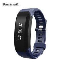 Sansnail H28สมาร์ทวงสร้อยข้อมือสมาร์ทนาฬิกาH Eart Rate Monitor PedometerบลูทูธS MartbandสำหรับiOS A Ndroidเป็นMiband 2