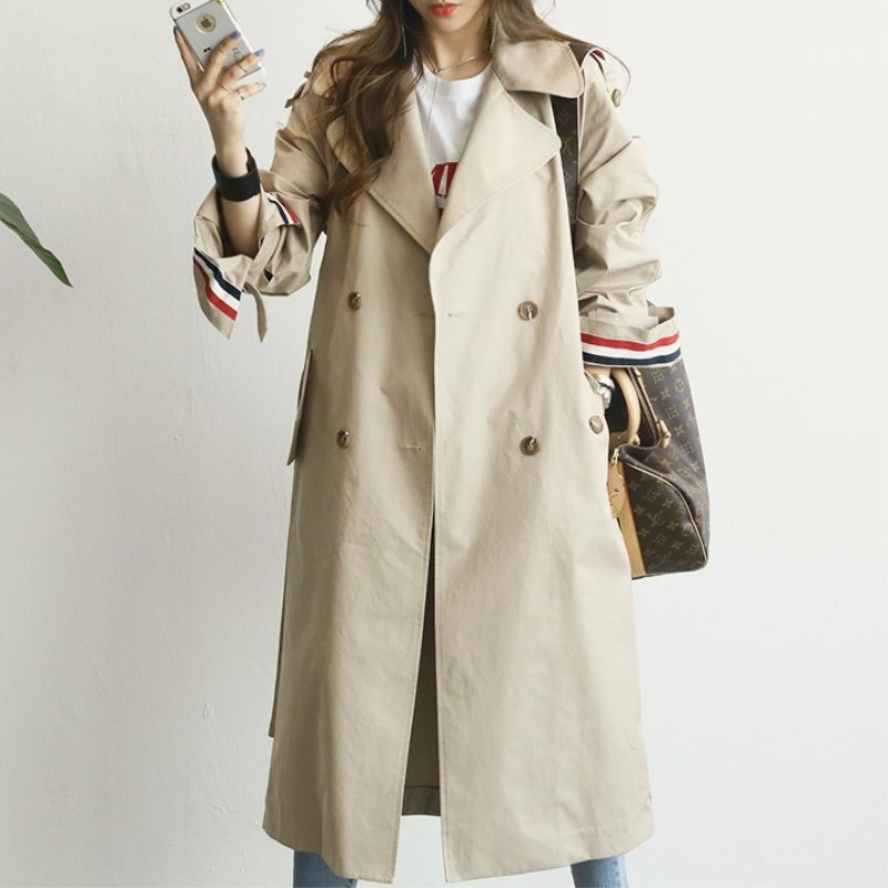 1-New-Spring-Autumn-Fashion-Casual-Women-s-Loose-Khaki-Trench-Solid-Coat-Shoulder-Board-Long-Outerwear