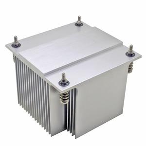 Image 4 - 2U server CPU cooler radiator Aluminum heatsink for Intel 1150 1151 1155 1156 i3 i5 i7 Industrial computer Passive cooling