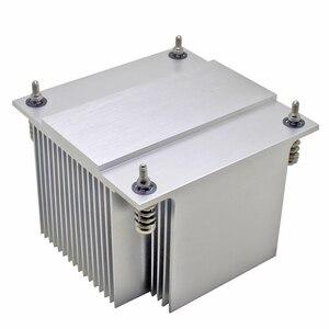 Image 4 - 2U server di CPU di raffreddamento del radiatore di Alluminio del dissipatore di calore per Intel 1150 1151 1155 1156 i3 i5 i7 computer Industriale di raffreddamento Passivo