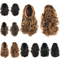 Hairpiece Curly Ponytails Synthetic Hair Ponytail Hair Extensions Hair Bun Pony Tail