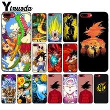 Yinuoda Dragon Ball Goku Pattern TPU Soft Phone Accessories Cell Phone Case for Apple iPhone 8 7 6 6S Plus X XS MAX 5 5S SE XR yinuoda g dragon peaceminusone pattern tpu soft phone cell phone case for apple iphone 8 7 6 6s plus x xs max 5 5s se xr cover