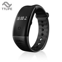 2016 TTLIFE Бренда Smart Браслет Bluetooth 4.0 Водонепроницаемый фитнес-трекер Браслет сна монитор Смарт часы Relogio feminino