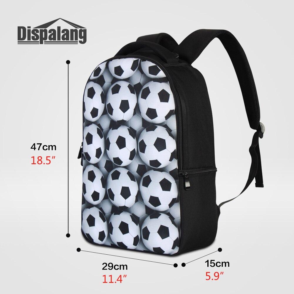 Dispalang Unique sac à dos pour ordinateur portable portable cahier hommes en plein air sac à dos ordinateur de voyage sac à dos Animal sacs d'école Mochilas - 2