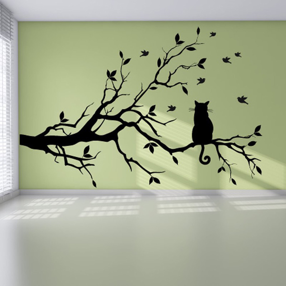 Comfortable Diy Tree Wall Art Gallery - The Wall Art Decorations ...