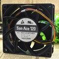 Entrega gratuita. 9 gv1224p1h03 12 cm 12038 24 v 0.8 Um grande volume de ar de freqüência industrial ventilador do computador