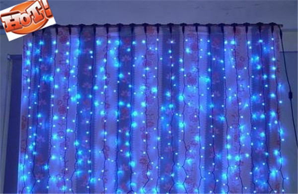 3m X Backdrop Led Light For Wedding Decoration Drape Lights Party Curtain