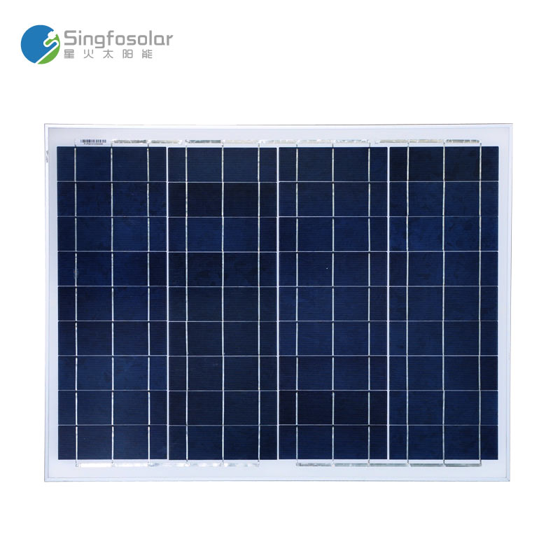 ФОТО New Arrival High Efficiency Solar Panel 50W 12V 18V Poly Painel Solar Charger Panneau Solaire PVP50W