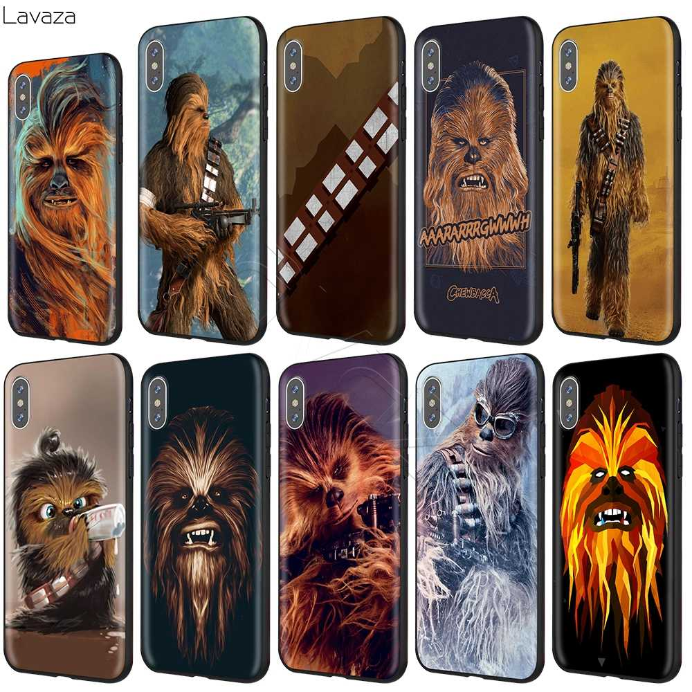 Lavazza Chewbacca etui na iPhone 11 Pro XS Max XR X 8 7 6 6S Plus 5 5S se