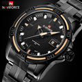 Watches Men Army Military Watch relogio masculino Luxury Brand NAVIFORCE Full Steel Analog Display Date Men's Quartz Waterproof