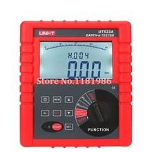 лучшая цена Via DHL/IE/UPS/EMS Digital Megger 2/3/4 Pole Earth Ground Resistance Voltage Soil Resistivity Tester Meter RS232 Uni-t UT523A