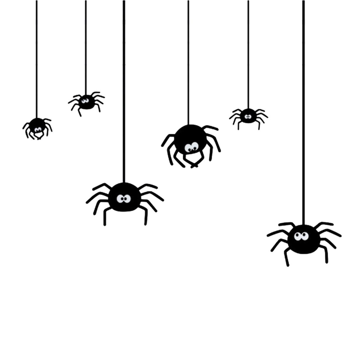 Рисунок смешного паука