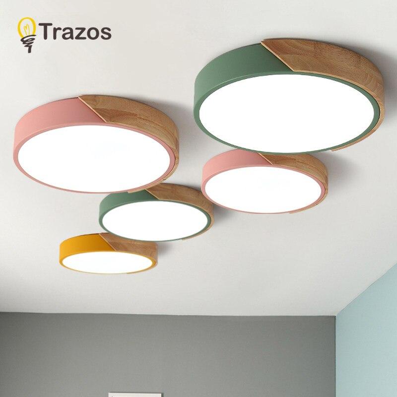 Ultra-fino LED teto lâmpadas de iluminação de teto para a sala de estar lustres de Teto para a sala moderna lâmpada do teto alta 5 cm