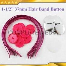 """1-1/"""" 37 мм 100 наборы для ухода за кожей волос Группа Кнопка поставки запчасти материалы для Professional Производитель значков"""