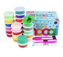 Моделирование цветных мягких полимерных глеевых наборов DIY Toys День рождения детей Образовательный интеллект Подарки Creative Plaything
