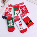 2015 high quality combed cotton terry thick warm socks / 0-3 years old  child New Year Christmas towel socks / Free Shipping